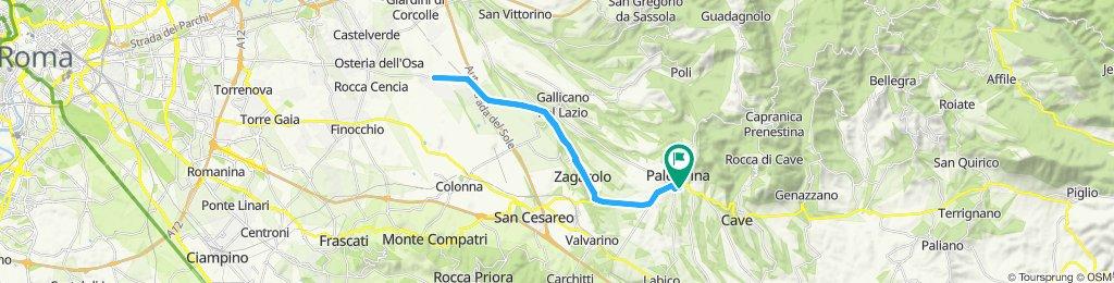 Palestrina-Valle Martella