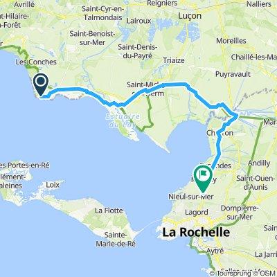 La Tranche to La Rochelle