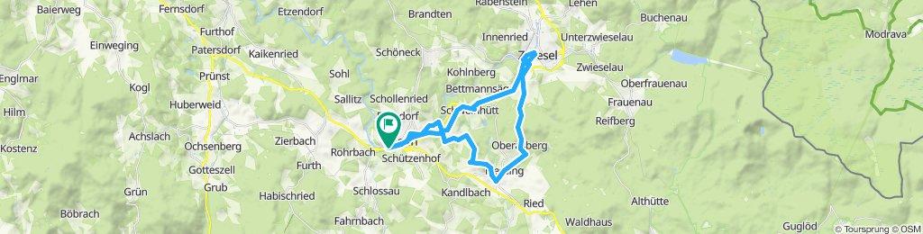 Regen - Zwiesel - Woidroserl