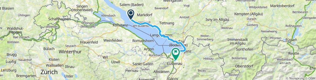 Meersburg - Lustenau