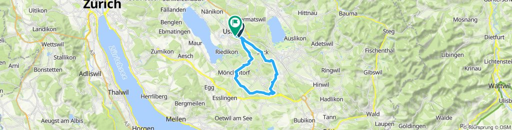 Entspannende Route in Uster