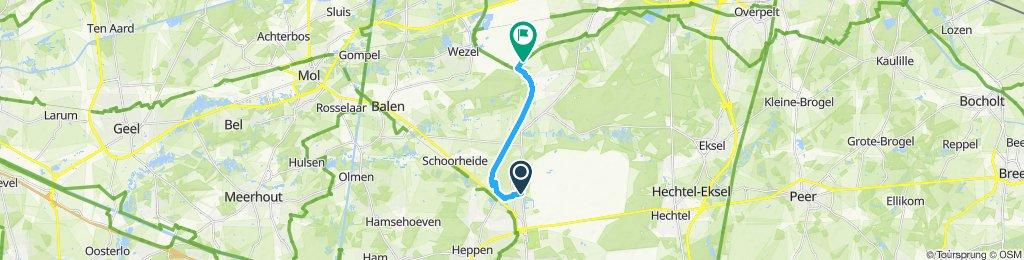 Ontspannen route in Leopoldsburg