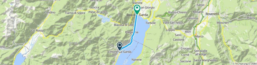 Blistering ride in Riva del Garda