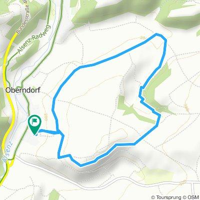 Route im Schneckentempo in Oberndorf