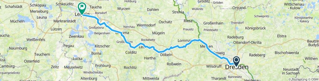 dresden-leipzig 130km 270 acent