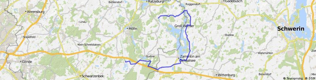 Tages-Fahrradtour