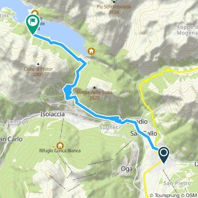 Deel 1 Bormio Meer van Cancano - Livigno - Foscagno - Bormio