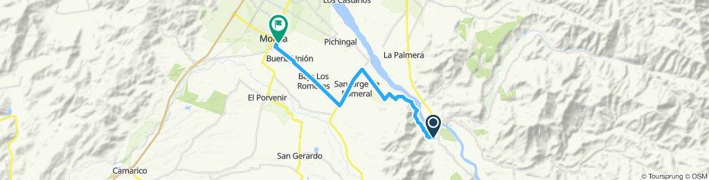 Paseo intenso en Molina