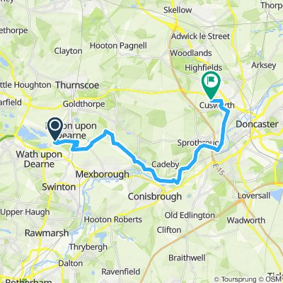 wombwell to doncaster