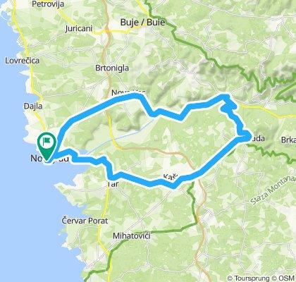 Moderate route in Novigrad