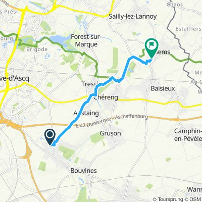 Itinéraire modéré en Willems