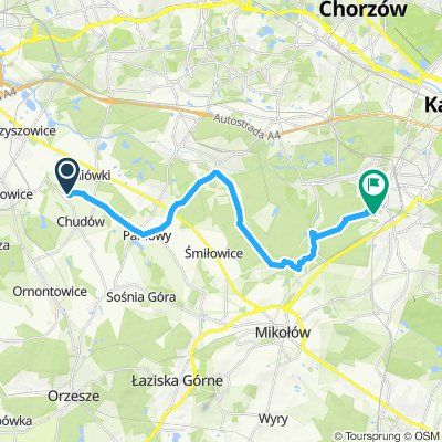 Katowice - Zamek Chódów