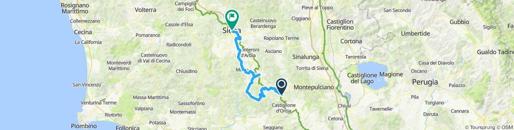 Eroica 2019 - day 3 -San Quirico - Siena