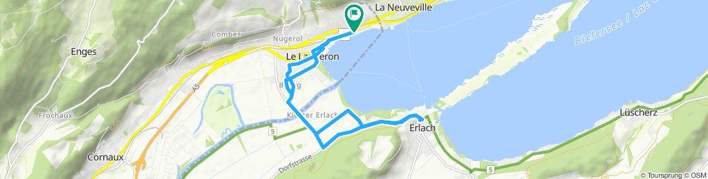 Itinéraire sportif en Le Landeron
