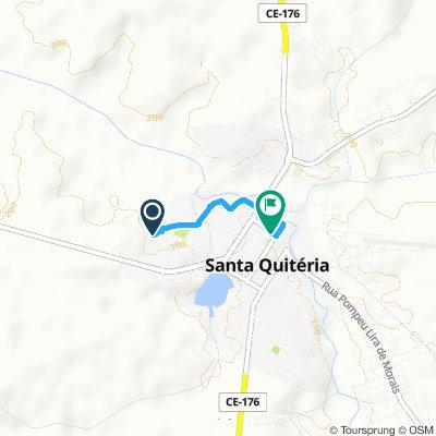 Rota esportiva em Santa Quitéria