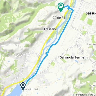 Percorso moderato in Castellarano