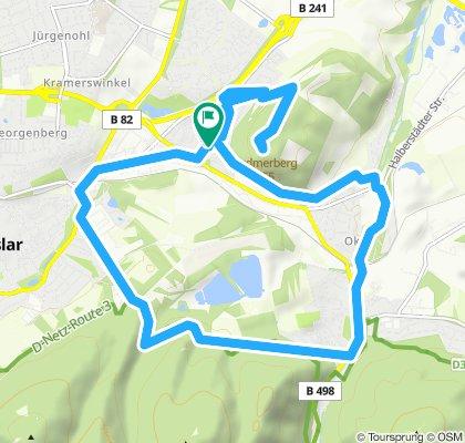 Entspannende Route in Goslar mit Matthias