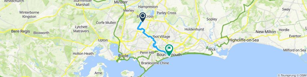 Bearwood to Bournemouth
