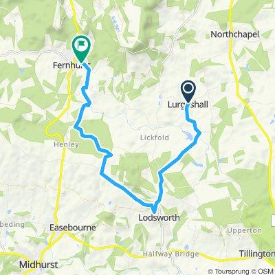 Lurgashall to Fenchurch, offroad