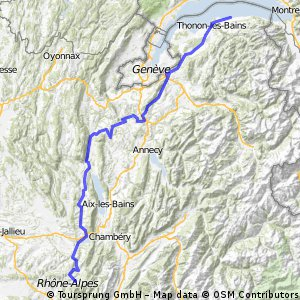 Criterium Dauphine Libere 2010 -  Stage 1: Evian-les-Bains - Saint-Laurent-du-Pont