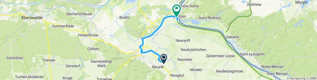 Entspannende Route in Bad Freienwalde (Oder)