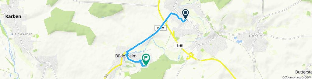 Entspannende Route in Schöneck
