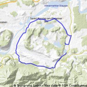 Gösselsdorfer Volkstriathlon Radstrecke
