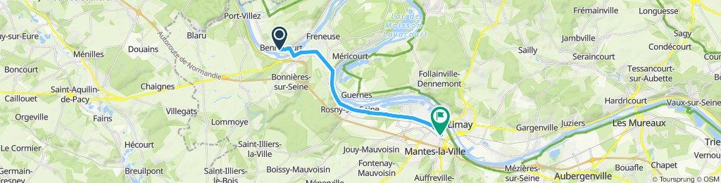 Steady ride in Mantes-la-Jolie