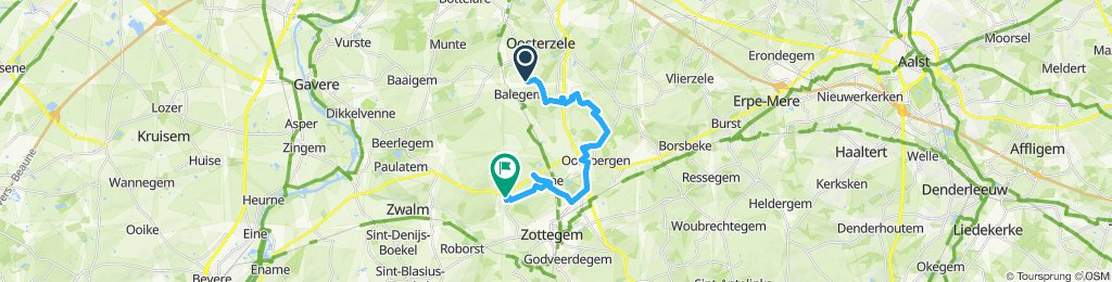 Supersnelle route in Zottegem2