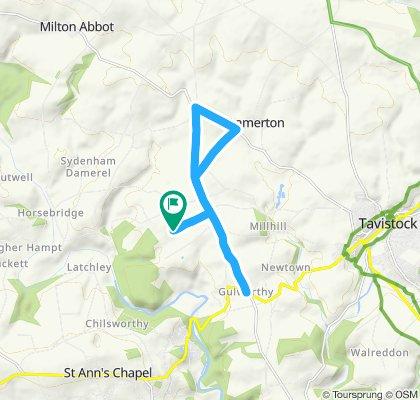 Steady ride in Tavistock