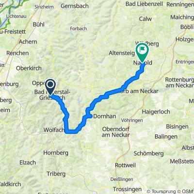 Schwarzwald 03: Bad Peterstal - Nagold