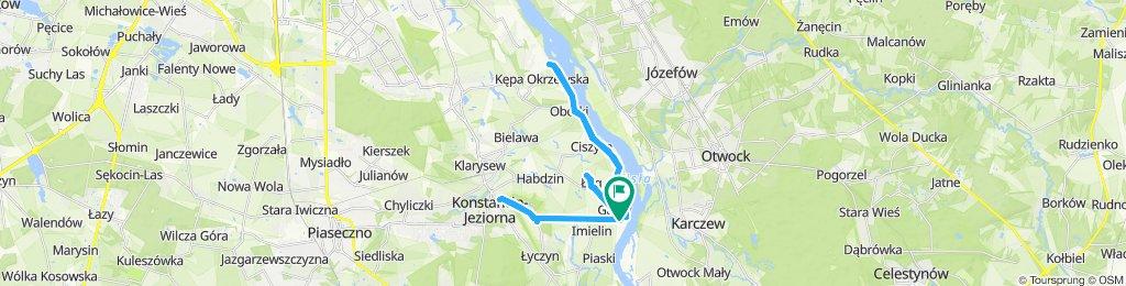 Percorso rilassato in Konstancin-Jeziorna