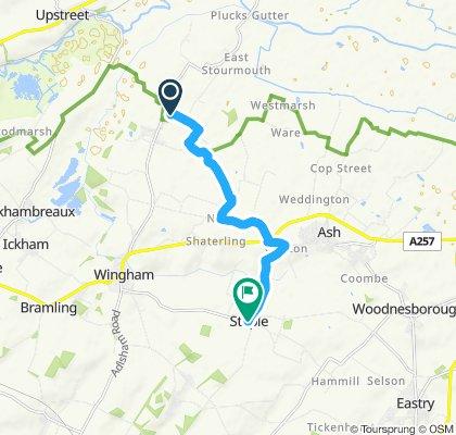 Easy ride in Canterbury
