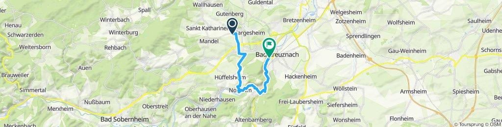 Entspannende Route in BME. und KH
