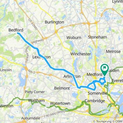 Slow ride in Medford