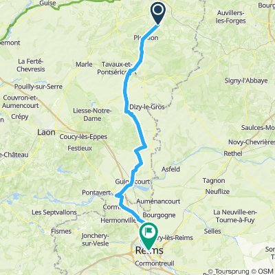 bedevaart naar Reims