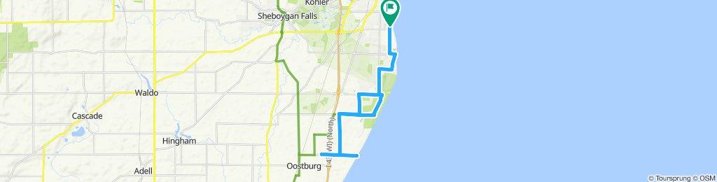 Easy ride in Sheboygan