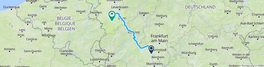 Mainz-》 Frechen