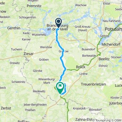 Von Brandenburg nach Raben