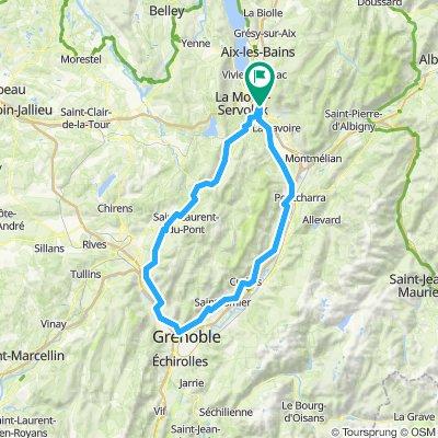 Chambery-Grenoble circuit