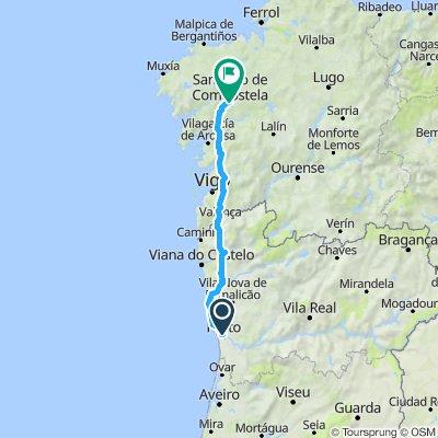 Porto to Santiago, St James Way