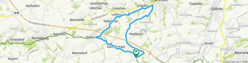 Route Thonhausen - SLN - Selka