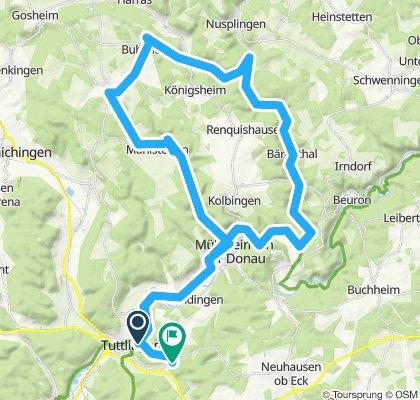 Tuttlingen-Nusplingen- Bubsheim