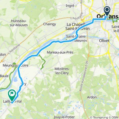 Stage 1 Orleans to Beaugency