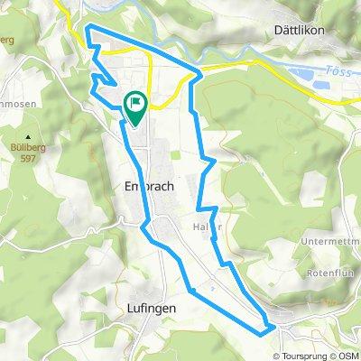 Moderate Route in Embrach