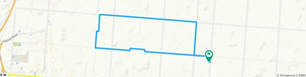 Restful route in Fletcher