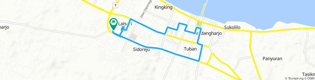 Morning ride kota tuban
