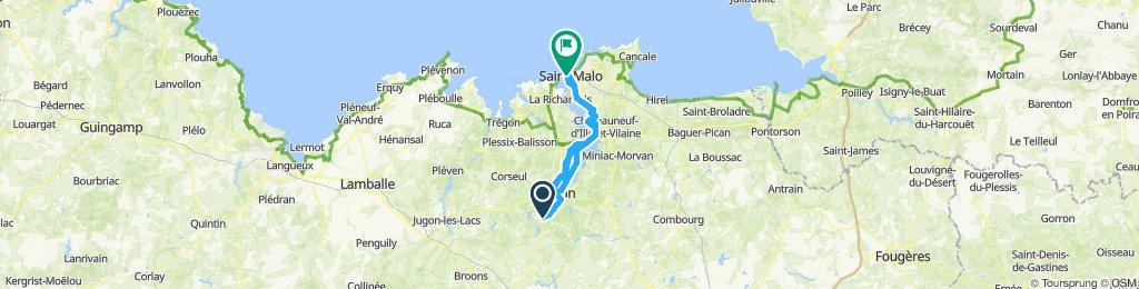 Bobital to St.Malo