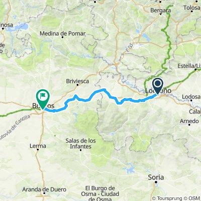 Logrono to Burgos