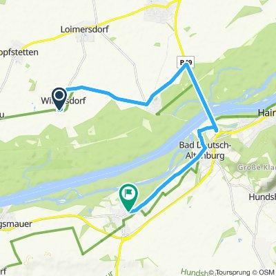 Easy ride in Petronell-Carnuntum